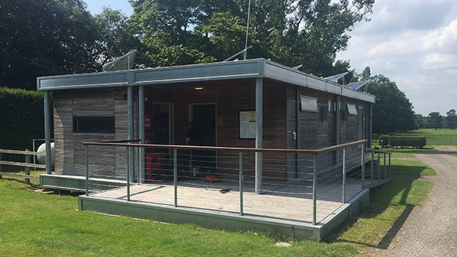 Capesthorne caravan park toilet and shower block